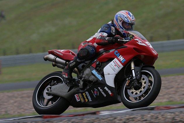 Motocyklista Zdeněk Brabec