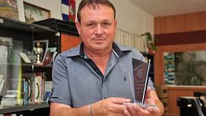 Starosta městyse Višňové Vladimír Korek.