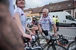 Cyklisté vybrali na jihu Moravy statisíce korun.