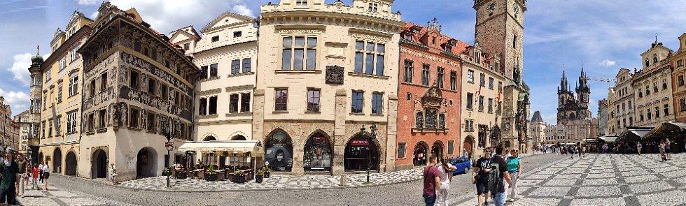 Z vycházek po Praze.