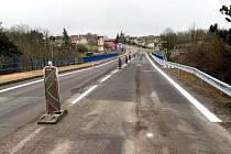 Silničáři ukončili opravu mostu na I/38 v Grešlovém Mýtě.