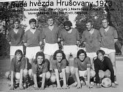 Z historie fotbalu v Hrušovanech nad Jevišovkou.