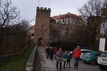 Vánoční prohlídky bítovského hradu.