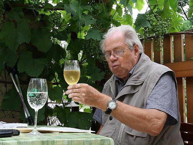 Dobšický vinař Antonín Čep.