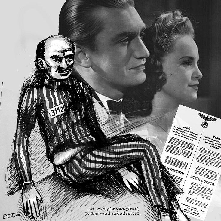 Režisérka Eva Toulová ilustrovala hned dvě knihy.