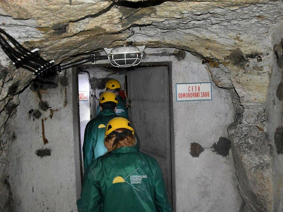 Kryt civilní obrany, objevený před pár měsíci ve Znojmě, promění dělníci v další adrenalinový zážitek návštěvníků tamního podzemí.