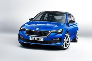 Škoda Scala přichází na trh. Autorizovaní prodejci už mají předváděcí modely.