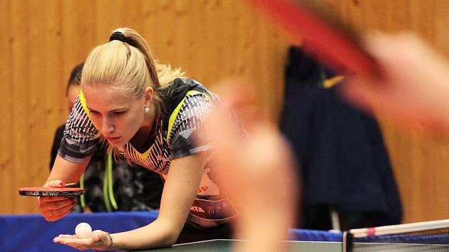 Krumlovské stolní tenistky ukončily sezonu bez play-off