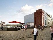V části bývalého znojemského pivovaru chce firma Vinotrh vybudovat galerii vín s vinárnou a kavárnou. Bude mít exkluzivní výhled na historickou část Znojma.