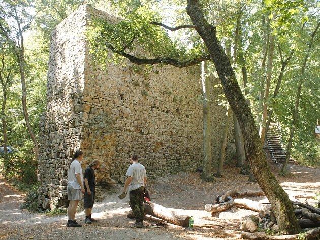 Zřícenina hradu Templštejn na Znojemsku se také uchází o titul Nejlépe opravená kulturní památka Jihomoravského kraje v roce 2015.
