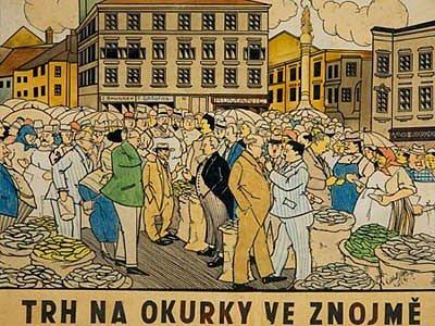 Oskar Pafka, Trh na okurky