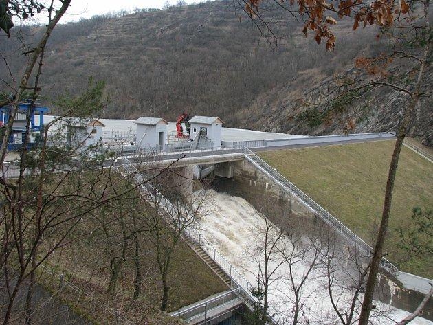 První stupeň povodňové aktivity dorazil do Znojma