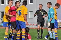 Fotbalisté 1. SC Znojmo vyšli v dalším kole druhé fotbalové ligy naprázdno. Na půdě Varnosdorfa prohráli 0:2 a na jih Moravy se vrátili s prázdnou.