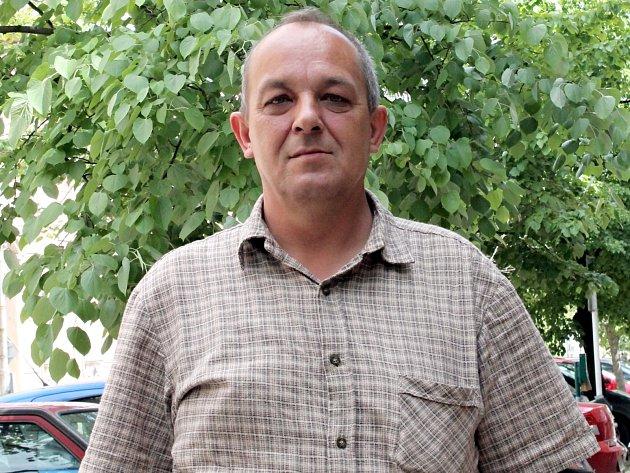 Bývalý ředitel Městských lesů Znojmo Oldřich Juřina.