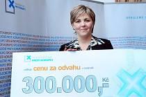 Renata Horáková získala cenu Nadačního fondu proti korupci.