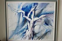 Znojemský Dům umění nabízí výstavu obrazů znojemského výtvarníka Pavla Černého.