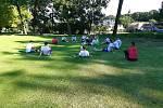 Hráči třetiligového Znojma znovu trénují. První červencový den se jich na hřišti v Břežanech sešlo šestnáct.