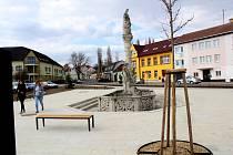 Hrušovany mají nové náměstí. Ilustrační foto.