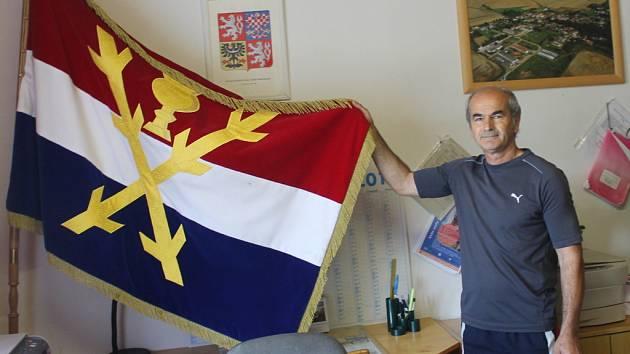 Jednašedesátiletý starosta Lančova Jan Pikner.