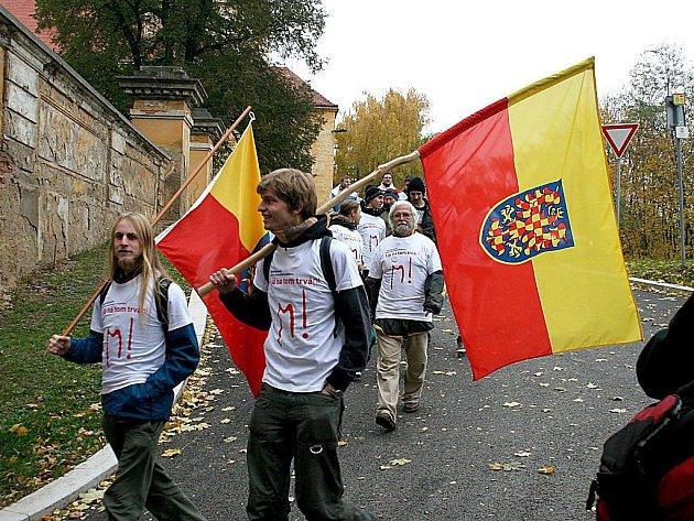 Pochod za Epopej začal v Moravském Krumlově.