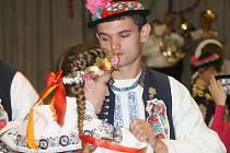 Svatomartinské hody slavili o víkendu Tasovičtí i Hodoničtí. K tanci zahráli Vacenovští muzikanti.
