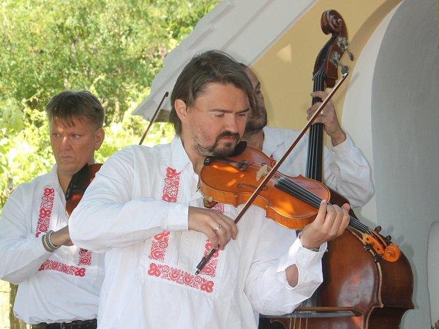 Koncert na magickém Heiliger Steinu.