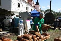 Středověkou, vojenskou i elektrickou pec, desítky stánků nejrůznějších lidových řemesel a folklorní soubory. To vše mohli návštěvníci spatřit v sobotu na pátých Slavnostech chleba ve Slupi.