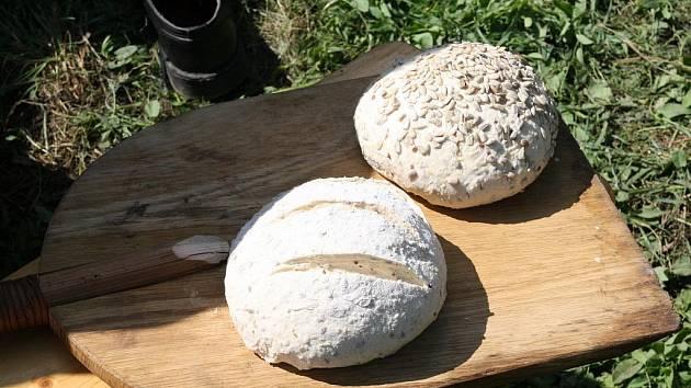Slavnosti chleba ve Slupi.