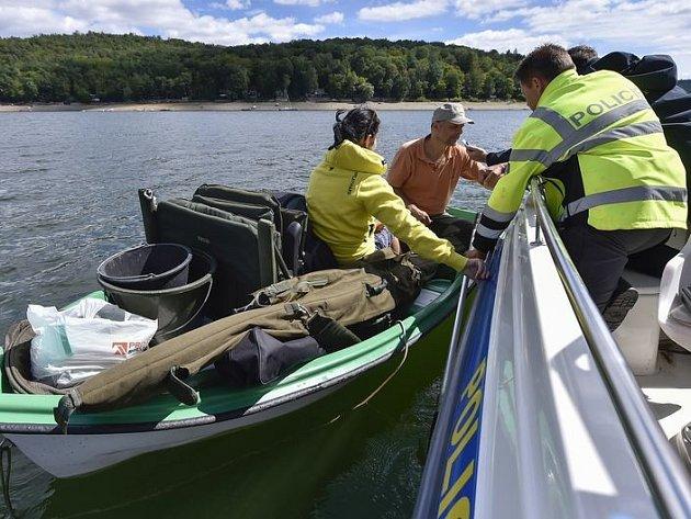 Celorepubliková policejní akce s názvem Voda v sobotu zacílila také na Vranovskou přehradu.