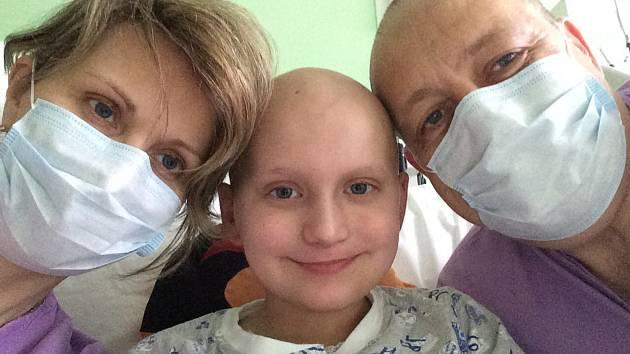 Fotografie z nemocnice pozvou nové dárce dřeně
