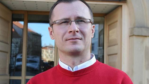 Starosta Těšetic Zdeněk Nekula.