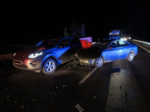 V půl desáté večer narazil do kolony dvaapadesátiletý řidič, policisté mu naměřili 2,26 promile alkoholu.