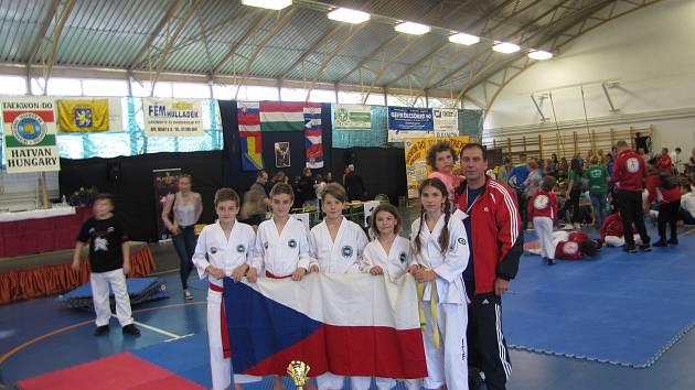 Taekwondisté dovezli z Maďarska tři medaile