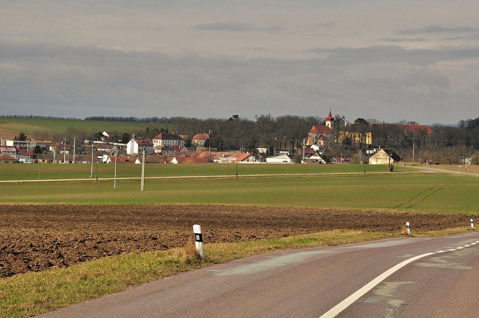 Největší větrný park na jižní Moravě se nachází u Břežan na Znojemsku
