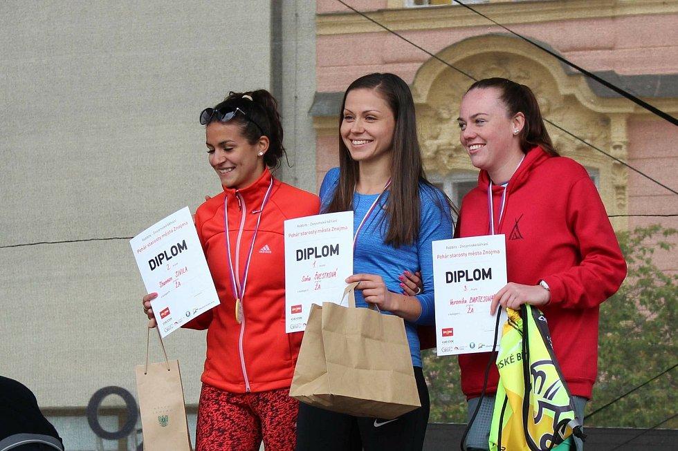 Vítězka Znojemského běžeckého poháru.Foto: Archiv Soni Švestkové