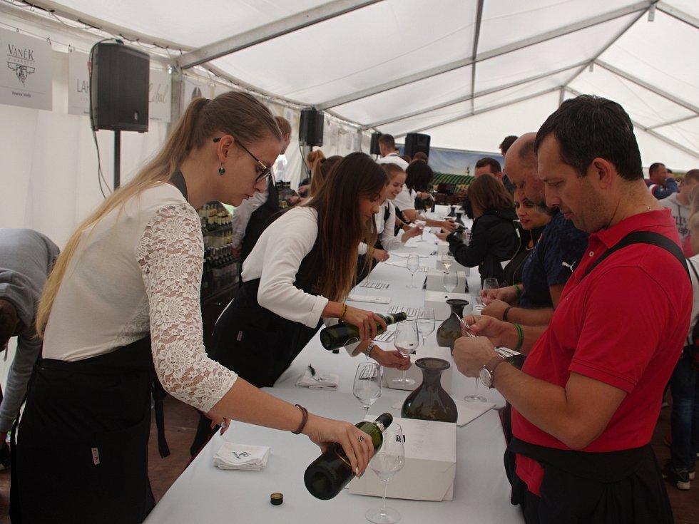 Tradiční Znojemské historické vinobrani ovládlo v pátek centrum města.