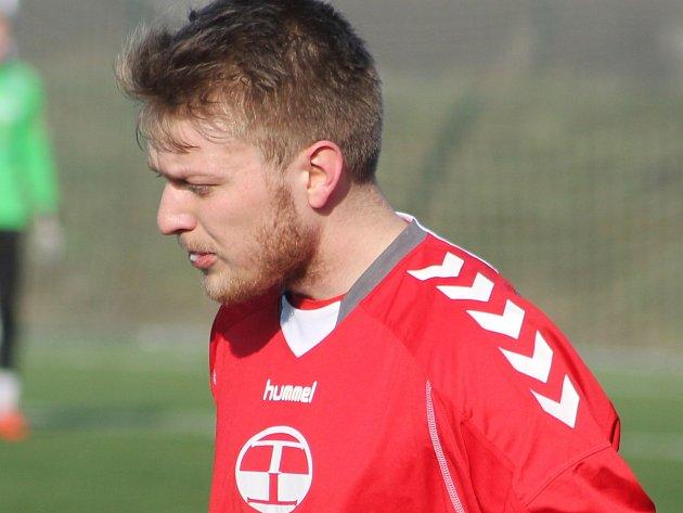 Michal Holub v dresu Vyškova.