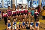 Znojemské gymnastky uzavřely letošní sezonu na závodech v Moravském Krumlově. Během třetí prosincové soboty získaly několik medailí.