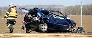 K tragické nehodě vyjížděli záchranáři v pátek 31. března k mackovické křižovatce.