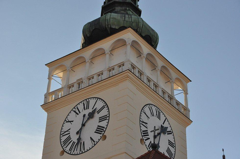 Do krajské soutěže se hlásí i věž kostela svatého Václava v Mikulově.