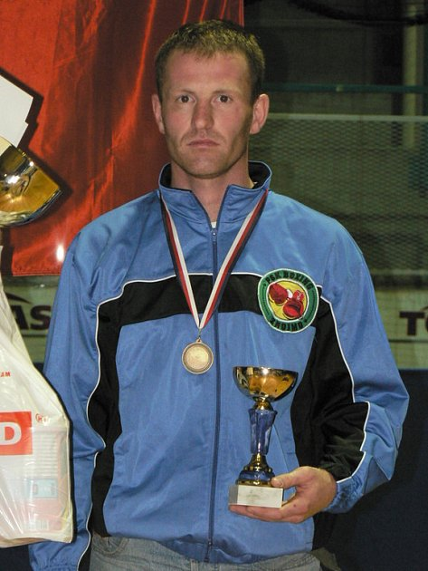 Boxer Petr Zavadil