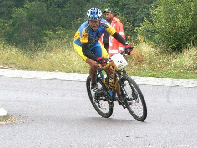 Cyklistický MTB maratón v okolí Vranovské přehrady.