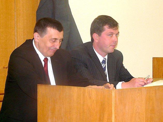 Pavel Balík u soudu.