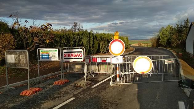 Vratěnín: opravy silnice pokračují