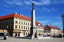 Kopalův pomník ve Znojmě.