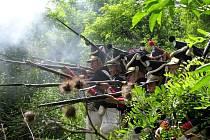 Druhý den napoleonské bitvy u Dobšic.