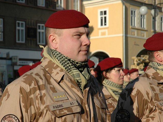 Nástup 4. brigády před misí v Afghánistánu