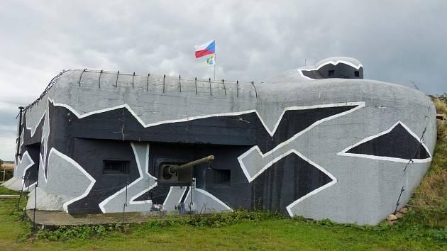 Pěchotní srub Zatáčka u Chvalovic.