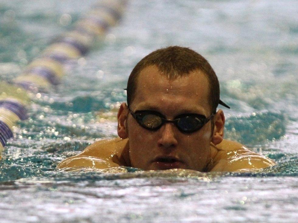 Zimní mistrovství republiky v plavání v krátkém bazénu v Plzni. S dvacetiletou kariérou se loučil Květoslav Svoboda.
