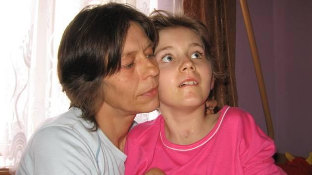 Květa Mikuľáková s dcerou Marcelou